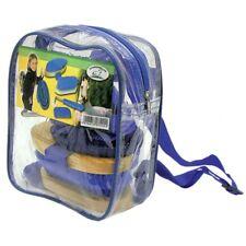 Putzrucksack 6-teilig für Kinder, mit Inhalt, Rucksack Putzset, NEU, blau
