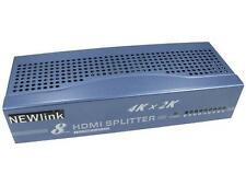 8 Port HDMI Splitter-Supports 4K And 3D