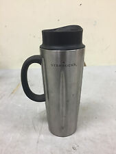 2003 Starbucks Barista 16oz Stainless Steel Solo French Coffee Press Travel Mug