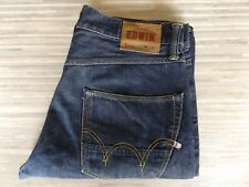Men's Edwin ED-55 Relaxed Tapered Fitting Dark Blue Jeans W32 L34