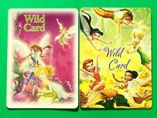 2 Disney Fairies Wild Card Jokers Single Swap Playing Cards