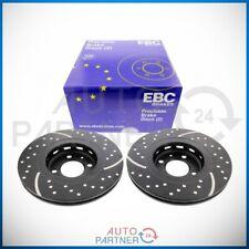 EBC für VW Golf 2 / 3 G60 Bremse Turbogroove Bremsscheibe Bremsscheiben vorne