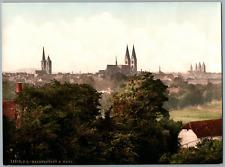 Halberstadt. PZ vintage photochromie, Deutschland photochromie, vintage photoc