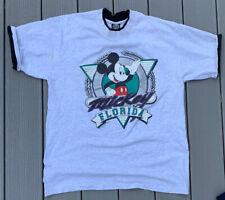 VTG Disney MICKEY FLORIDA Mens XL T-Shirt Sherry Best Tee Single Stitch 80s 90s