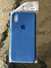 Apple iPhone X/XS Case Ultra Thin Soft Silicone iPhone 10 New Blue