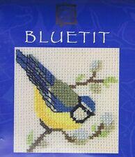Bluetit Card Cross Stitch Kit By Textile Heritage Bird