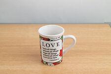 Bay Island Corinthian 1:13 Love Bears All Things Believes All Things Mug Cup