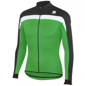 Sportful Pista Thermal Men's Long Sleeve Cycling Jersey Size Large