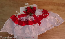Baby Girl White Pink Red Navy Occasion Christening Lace Frilly Socks 00/0-2/3-5
