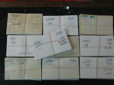 GLASSINE ENVELOPES #3. USED. 1000 CT. (NO BOX).  ABOUT 45% OFF ORIGINAL COST!