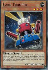 YU-GI-OH CARD: CARD TROOPER - SR03-EN015 - 1ST EDITION