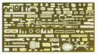 Hasegawa 1/350 IJN Light Cruiser Agano Detail Up Etching Parts Basic D NEW