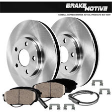 Front 344Mm Brake Rotors And Ceramic Pads For Land Rover Range Rover 2003 2004