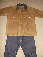 FILSON Men's 44 Canvas WAX Work Jacket NWOT Heavy 100% Cotton Style 61N Engineer