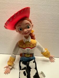 "Toy Story Jessie Doll 14"" Pull String Talking Disney Works! Woody Friend"