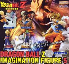 Dragonball Dragon Ball Z Gashapon Imagination Figure Part 5 Full Set Bandai 2005