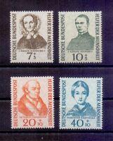 Bund 1955 - Wohlfahrt - MiNr. 222/225 postfrisch** - Michel 40,00 € (829)