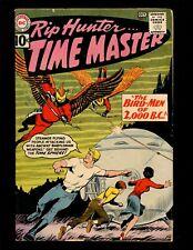 Rip Hunter...Time Master #4 VG Cardy Corky Bonnie Jeff Bird-Men of 2000 B.C.