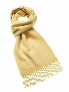 Luxury Soft Lambswool Plain Scarf - Bronte by Moon - British Made in Yorkshire