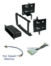 Car Stereo Install Kit Combo for 2008 2009 2010 Nissan Rogue w/ + w/o Bose Amp