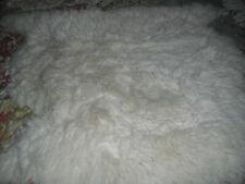 ORIGINAL SHEEPSKIN RUG SHOP OFF WHITE RUG, NEW ZEALAND. TAGGED