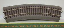Voie ROCO LINE - Rail Courbe av ballast Rayon R2 ref 42522  Code 83 - Lot de 6
