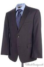 HUGO BOSS Recent Pasolini Woven Brown WOOL MOHAIR Jacket Pants SUIT Mens - 40 S