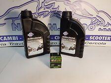 Set Mantenimiento 2l Silkolene 10w40 + Filtro Aceite 566 Kymco 200 People GTI