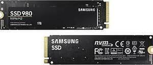 SAMSUNG 980 M.2 2280 1TB PCI-Express 3.0 x4, NVMe 1.4 V-NAND MLC Internal Solid