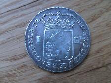 Niederlande Gulden Gelderland Silber 1764