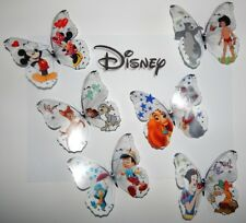 Disney 3d Butterflies wall stickers for child's room Jungle book,Minnie mouse