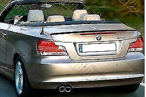 BMW E88 Carbon Fiber 1-Series Convertible Boot Lip Spoiler Wing 12-17 UK SELLER