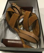 Leather Party Strappy Solid Heels for Women