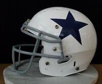 Dallas Cowboys NFL Helmet No Name & No Number Throwback - Size Medium