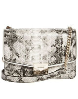 Guess Amee Crossbody Bag Snake/Gold Chain