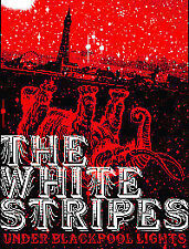 The White Stripes - Under Blackpool Lights (DVD, 2004) very good condition