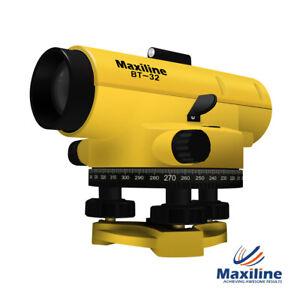 Maxiline BT-32 32X Automatic Dumpy Level + 12 Months Warranty + Tax Invoice