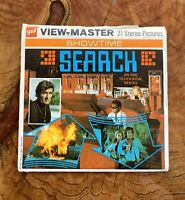 gaf B591 SEARCH Franciosa Meredith TV Show view-master Reels Showtime Packet