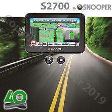 "Snooper S2700 4.3"" Car Sat Nav UK & European Maps GPS Satellite Navigation"