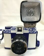 Lomography Qing Hua Diana F+ Camera by Dorophy Tang Blue & White Special Edition