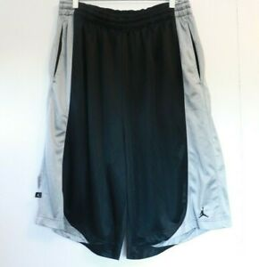 Nike Air Jordan Black Grey Shorts Mens Size 3XL