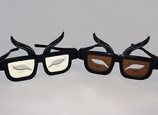 Almond Eye Glasses Classic / Dk Skin Combo (Chop Suey) Made in USA