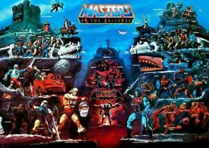 POSTER HE MAN AND THE MASTERS OF THE UNIVERSE GRANDE #4