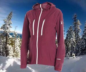 Spyder Womens XL Eiger Waterproof Ski Snowboarding Technical Shell Jacket $500
