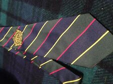 Regimental Tie - Argyll and Sutherland Highlanders of Canada - with embroidery