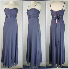 New Monsoon Purple Silk Amelia Maxi Dress Bridesmaid Formal Prom 12 RRP £160