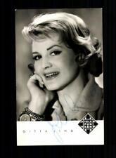 Gitta Lind Autogrammkarte Original Signiert ## BC 158571