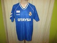"Real Madrid Original hummel Auswärts Trikot 1990/91 ""OTAYSA"" Gr.XL TOP"