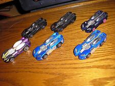 Nice Lot of 6 Hot Wheels Splitin Image II Concept Sports Race Cars