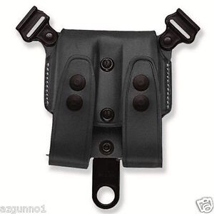 Galco SCL Mag Case For System Black .45 Double Stack Mags SCL28B